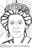 The Notable Queen Elizabeth Coloring Pages