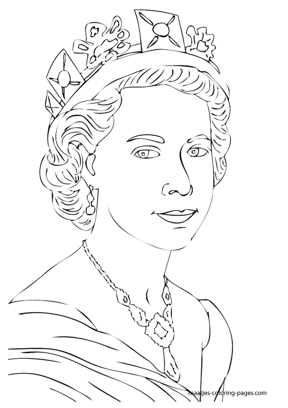 Queen Elizabeth Diamond Jubilee Coloring Pages 071 ...