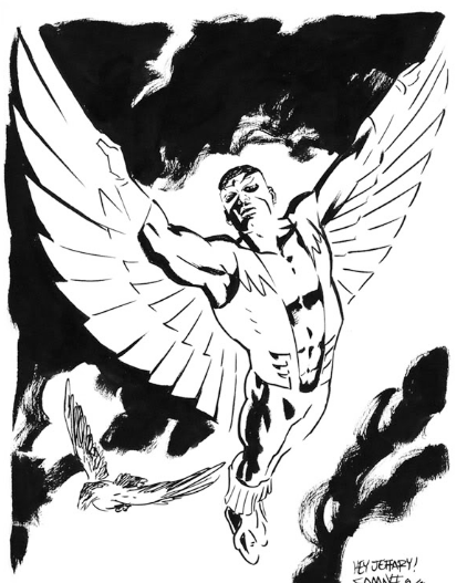 marvel falcon coloring pages - photo#9