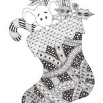 zentangle-christmas-stocking-coloring-picture