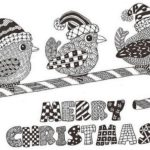 zentangle-merry-christmas-coloring-page