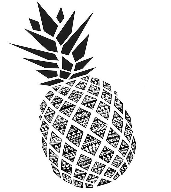 zentangle-pineapple-coloring-picture