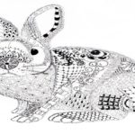 zentangle-rabbit-artwork
