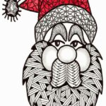 zentangle-santa-coloring-sheet