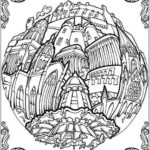 Circular-Cities-Adult-Coloring Book
