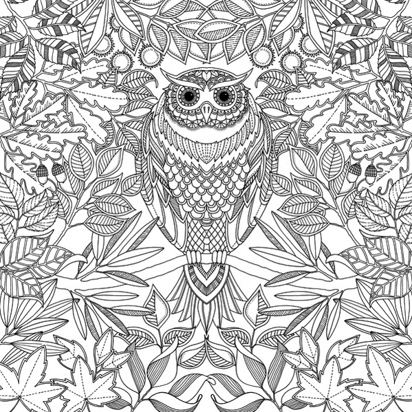 Magical Jungle Johanna Basford Coloring Page