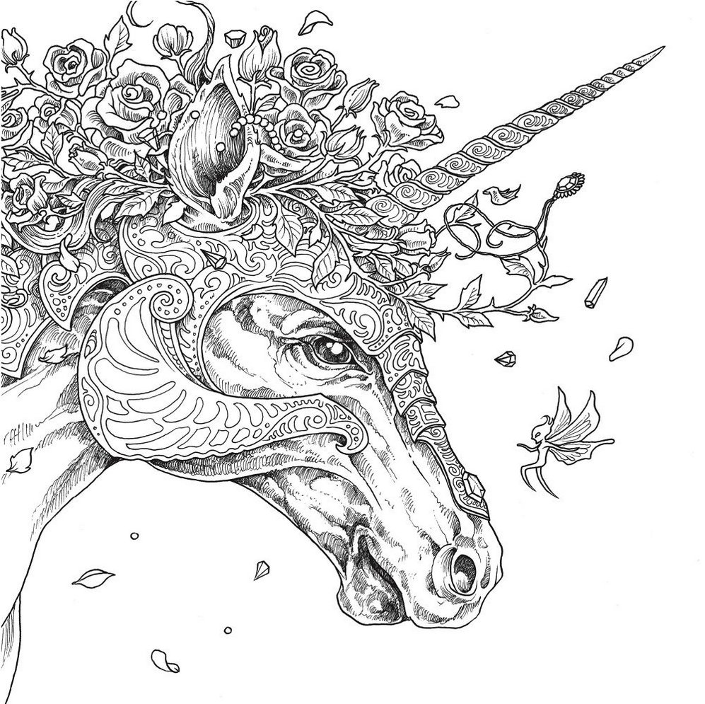 Mythomorphia-unicorn-coloring-book