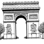 arc-de-triomphe-napoleon-bonaparte-drawing