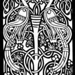 celtic-stained-glass-coloring-page-johanna-basford