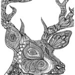 deer-head-mandala-coloring-sheet