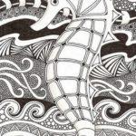 mandala-seahorse