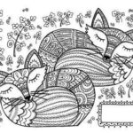 two-mandala-fox-coloring-page