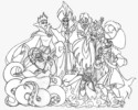 Disney Villains Coloring Pages to Inspire Creativity and Relaxation