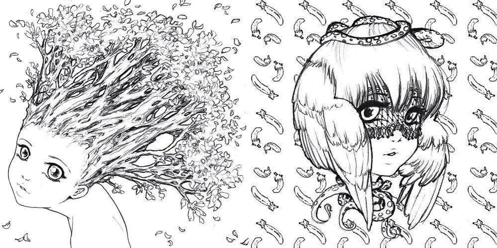 Pop-Manga-Coloring-Art-Illustrations