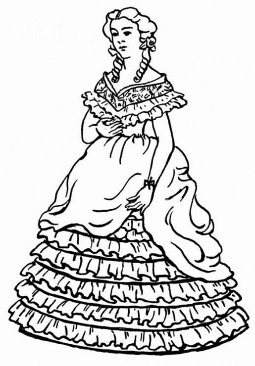 Victorian-Fashions-Coloring-Page