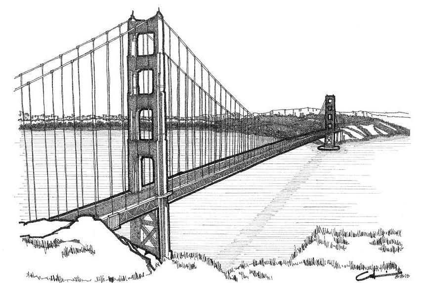 golden-gate-bridge-calvin-durham-coloring-page