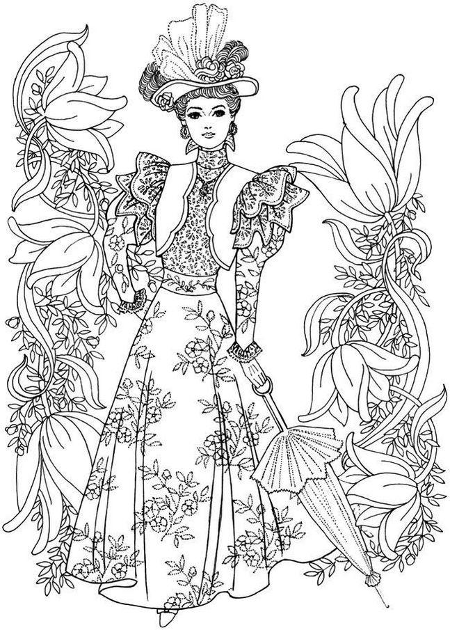 victorian-era-fashion-dress-coloring-sheets