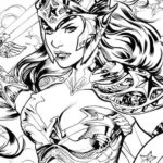 Gal-Gadot-Wonder-Woman-Super-Girl-Coloring-Pages