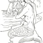 Realistic-Coloring-Pages-Mermaids-to-Print