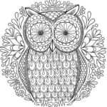 mandala-owl-coloring-reducing-stress