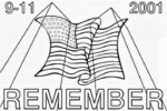 11th September World Trade Center Coloring Pages