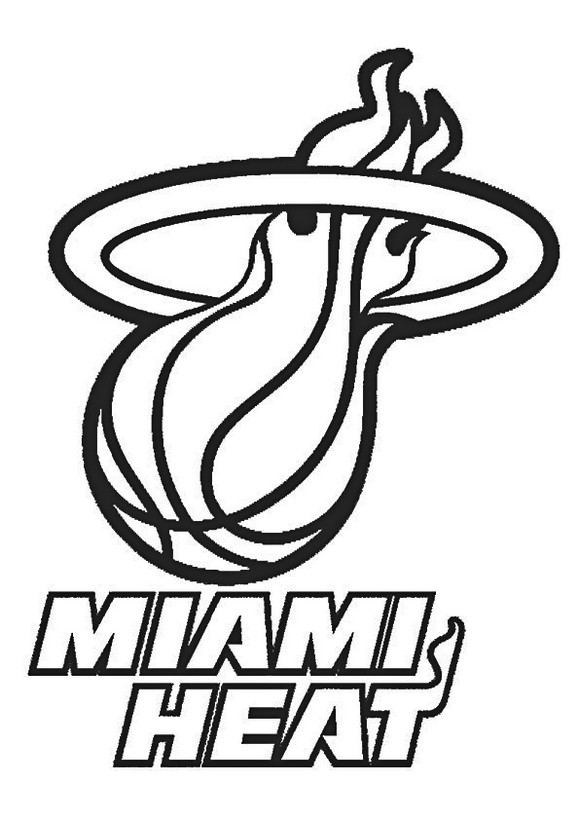 Nba-Miami-Heat-coloring-pages