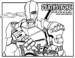 Deathstroke Supervillain Coloring Pages