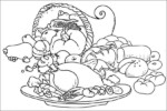 Food and Nutrition Coloring Pages, a Fun Nutrition Activity for Kids