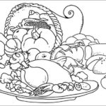 Healthy Food Coloring Pages Printable