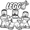 NBA Coloring Page: All 30 National Basketball Association Symbol and Logo to color