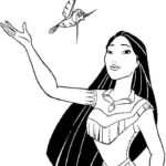 pocahontas-and-bird-coloring-page-disney