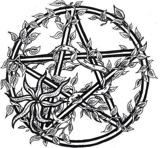 wiccan-star-coloring-page