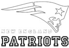 New England Patriots Coloring Pages to Encourage Creativity