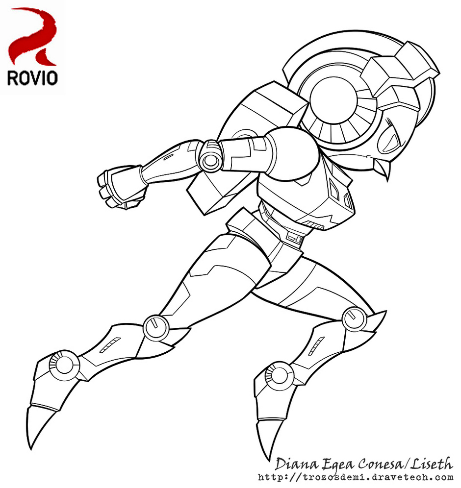 Angry Bird Transformers Bumblebee Coloring Pages Printable