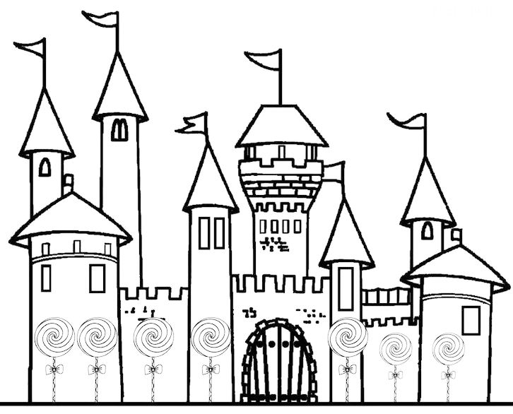 Disney Kingdom Castle Coloring Page To Print