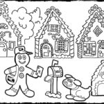 Gingerbread House Drawings