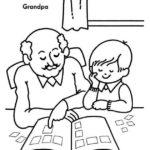 Grandparent Coloring Sheet Printable