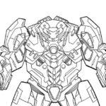 Hulkbuster Coloring Page To Print