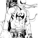 Iron Fist Coloring Sheet For Kids
