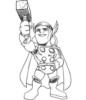 Thor Marvel Coloring Pages