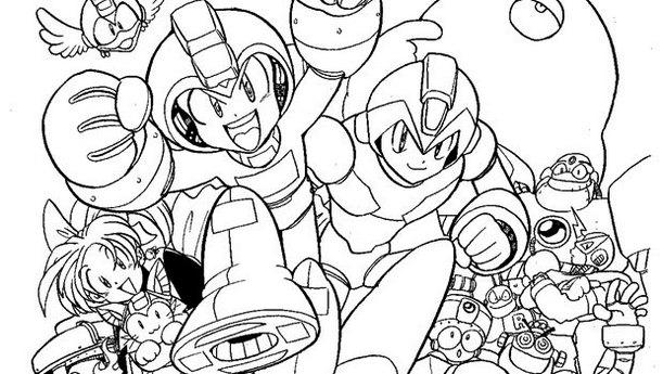 Mega Man Clip Art