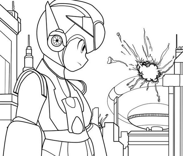 Megaman Zx Coloring Sheet Printable