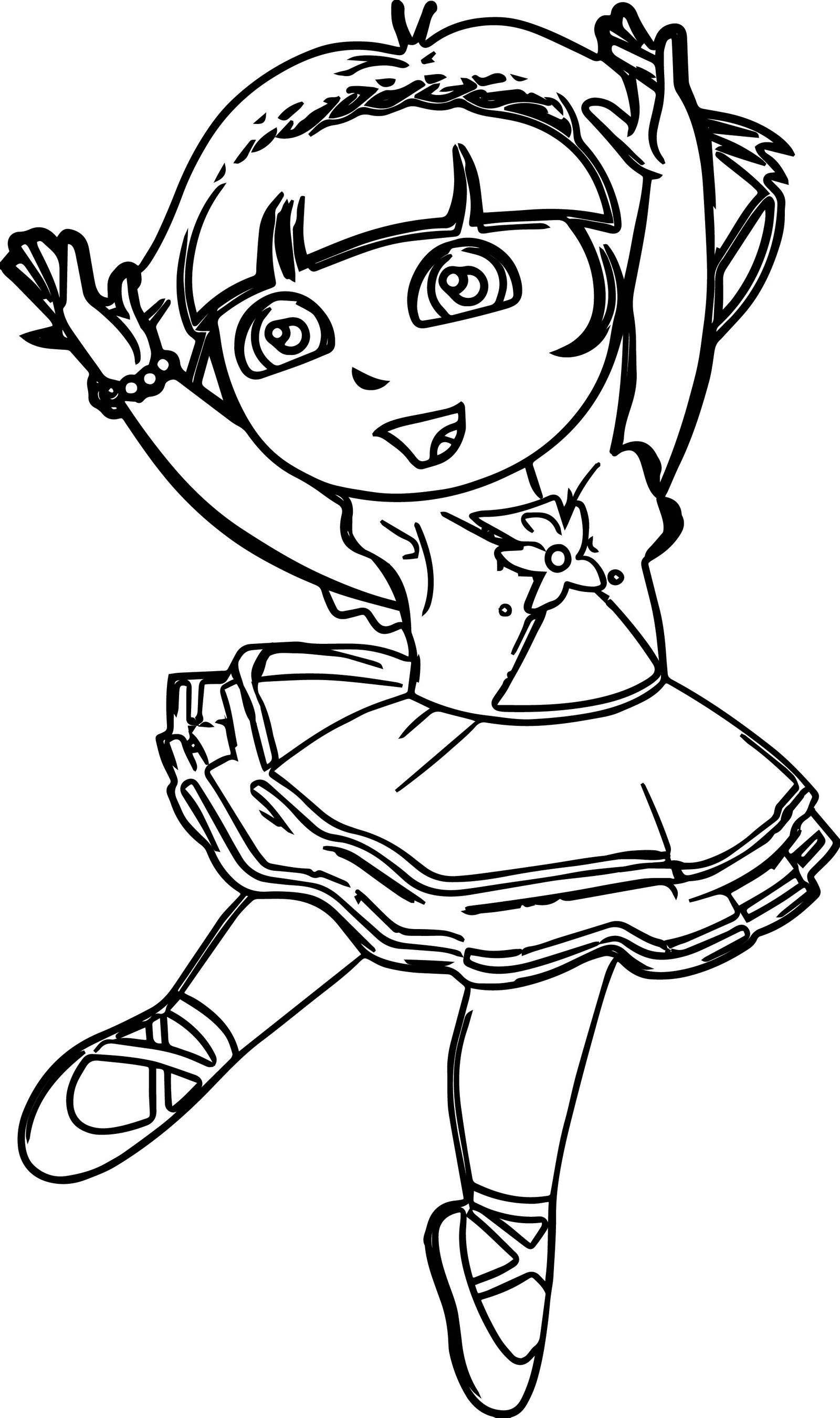Ballerina Coloring Pages Coloring Pages