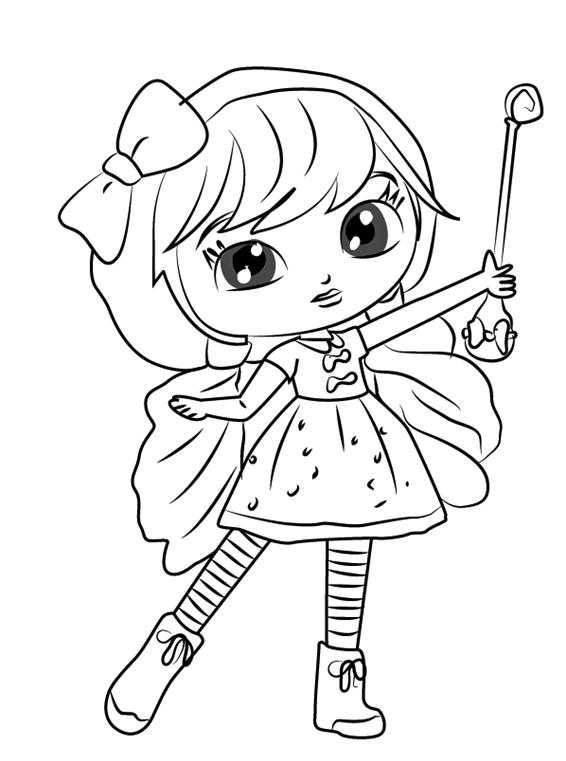Lavender From Little Charmers Nick Jr Coloring Pages