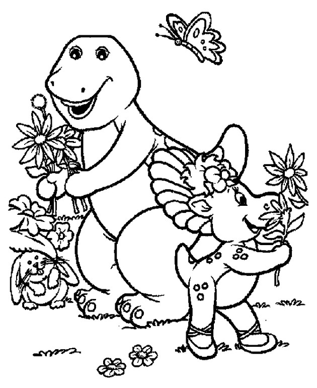 barney and friends coloring pages barney coloring pages printable eliolera - Barney Coloring Book