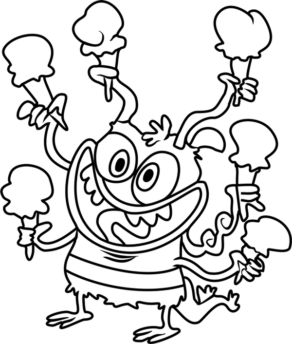 Bunsen Coloring Page Printable