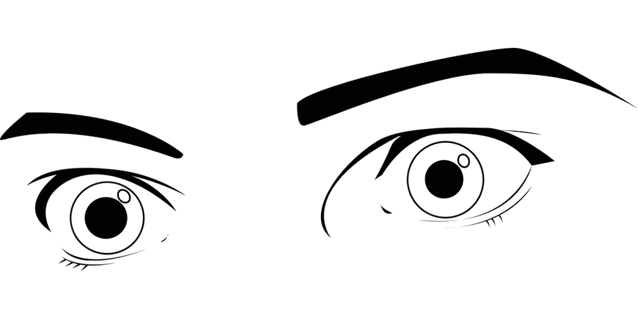 Eyes Coloring Sheet