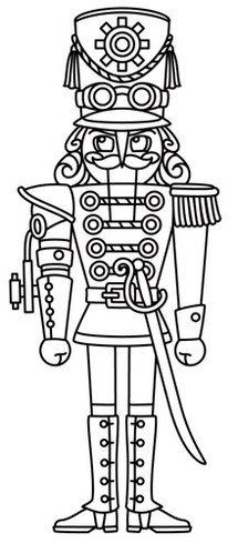 Nutcracker Coloring Pages To Print