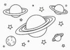 Planet Coloring Pages with the 9 Planets of Solar System