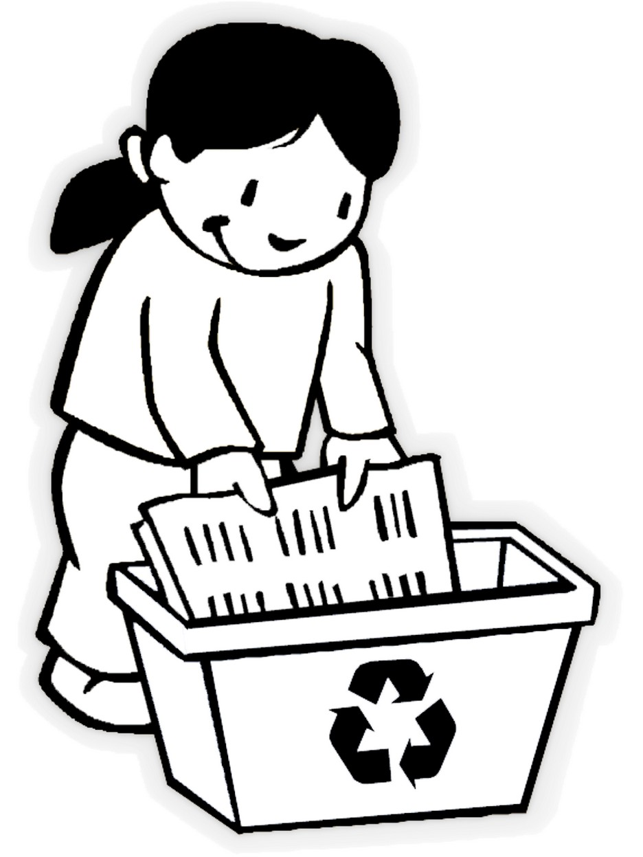 Environmental coloring activities - Recycling Coloring Pages To Encourage Love For The Environment Coloring Pages